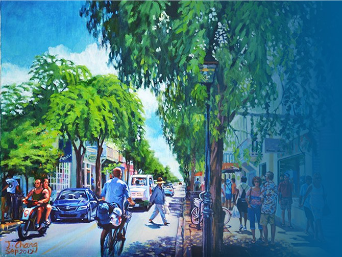 car-free key west art